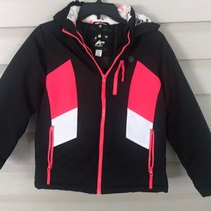 Athletech Black Pink White Winter Jacket L (10-23)